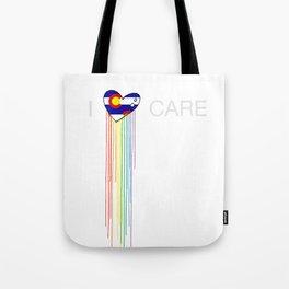 I Care Colorado Edition Tote Bag
