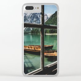 Road Trip 26 - Dolomites Clear iPhone Case