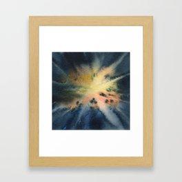 Dendrites Framed Art Print