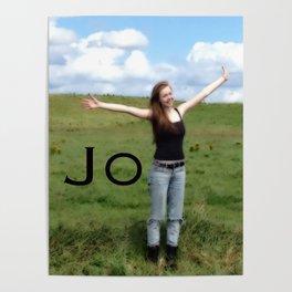 Joy! | Quote | Nadia Bonello Poster