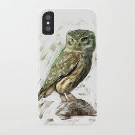 Olive Owl iPhone Case