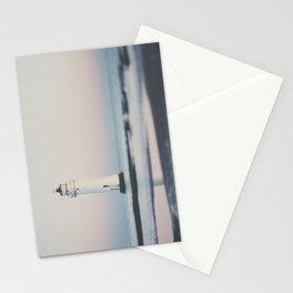 New Brighton Lighthouse at sunrise Stationery Cards