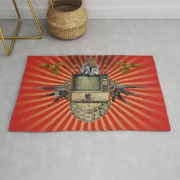 The Revolution Will Not Be Televised! Rug