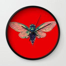 17 Year Cicada Wall Clock