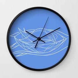 Sleeping bird Wall Clock