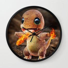 Realistic Charmandar Wall Clock