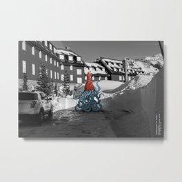 Unseen Monsters of Mount Shasta - Quidi Kallagoo Metal Print
