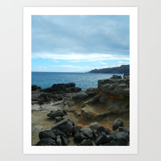 Maui Wowi Art Print