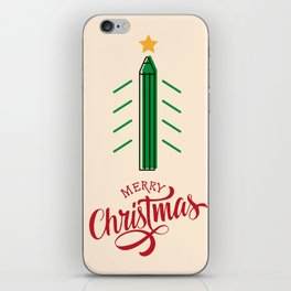 Merry Christmas, designers and architects! iPhone Skin