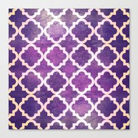morocco Canvas Prints featuring Morocco by Raluca Ag