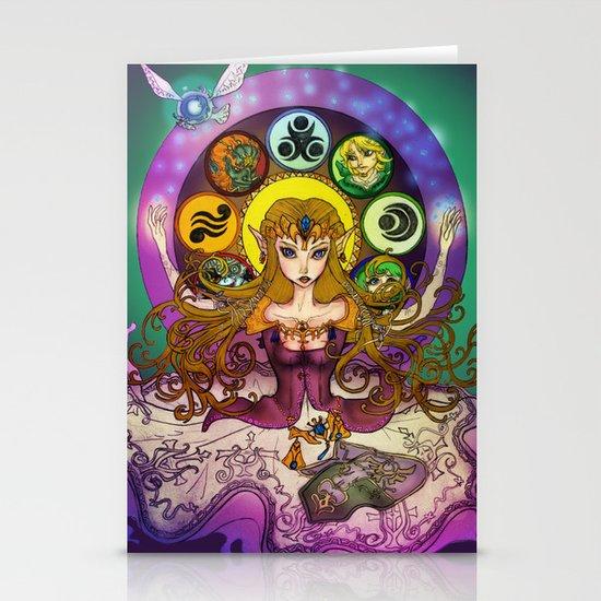 Mystic Zelda Stationery Cards
