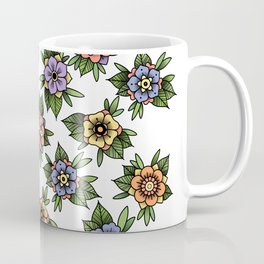 traditional flowers Coffee Mug