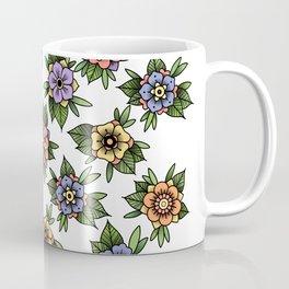 traditional flowers Coffee Mug