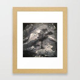 The Last Tree - Humans Demise Framed Art Print