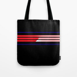 Team Colors 5...Red,blue Tote Bag