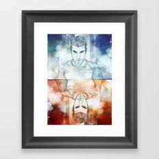 Zachary Quinto Framed Art Print