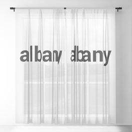 albany Sheer Curtain