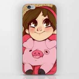 Mabel and Waddles iPhone Skin