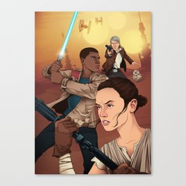 The Force Awakens: Light Side Canvas Print