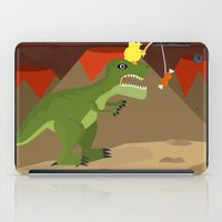 dinosaur iPad Cases featuring dinosaur by Nir P