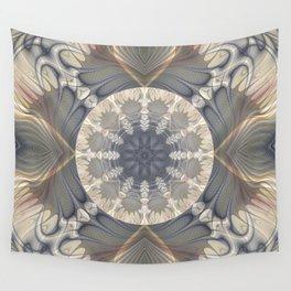 Fractal Mandala Wall Tapestry