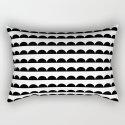 Scallop - Black and white minimal design print hipster urban city brooklyn socal san francisco bay p by charlottewinter