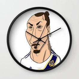 Zlatan Wall Clock