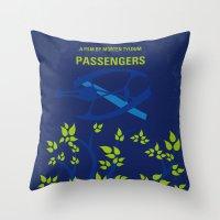 No803 My Passengers minimal movie poster Throw Pillow