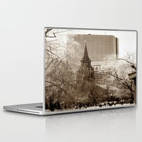 boston Laptop & iPad Skins featuring Boston by Raymond Earley