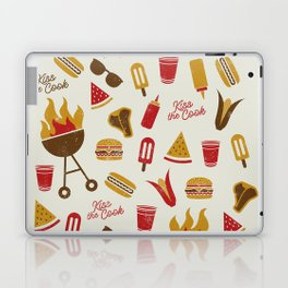 Kiss the Cook Summer BBQ Laptop & iPad Skin