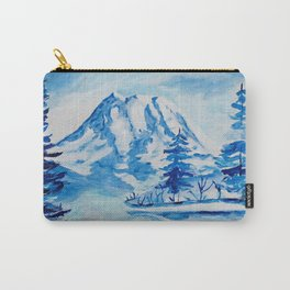 Winter Mt. Rainier Carry-All Pouch