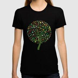 Autumn Leaves - Tree Hugger Design T-shirt