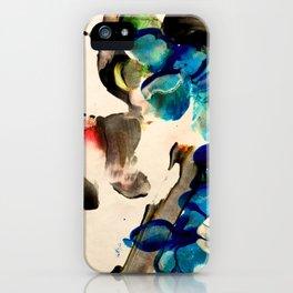 flowers flow 01 iPhone Case