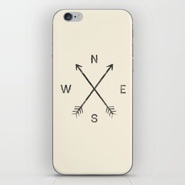 Compass (Natural) iPhone Skin