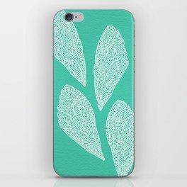Cicada Wings – Turquoise iPhone Skin