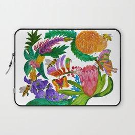 Australian native flowers wreath Laptop Sleeve