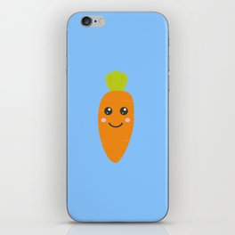 Cute baby carrott iPhone Skin