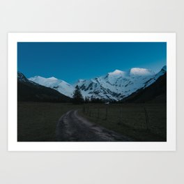 Into the Night - Landscape and Nature Photography Art Print