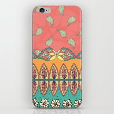 Boho Border iPhone & iPod Skin