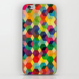 Hexagonzo iPhone Skin