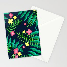 Natures Confetti Leaves  Stationery Cards