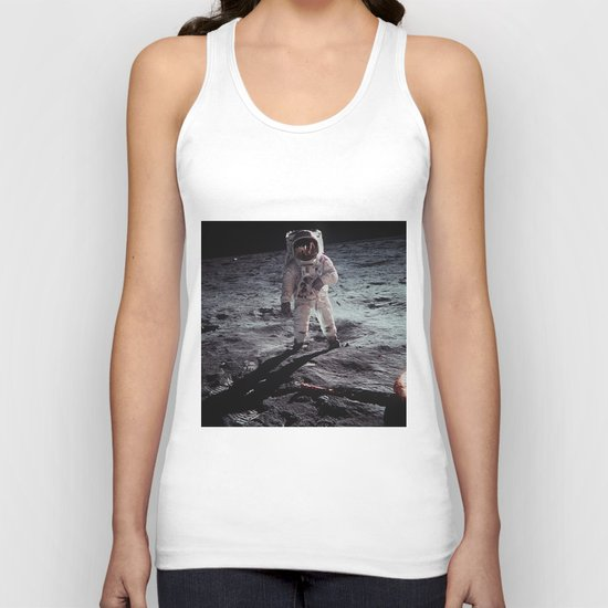 moon man Unisex Tank Top