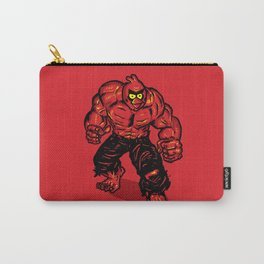 Angry Bird hulk Red Carry-All Pouch