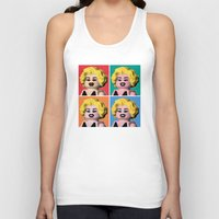 marilyn Tank Tops featuring Marilyn by powerpig