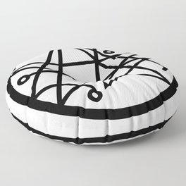 Necronomicon Sigil of the Gateway Occult Symbol Cthulhu Floor Pillow