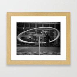 You Missed A Spot. (ACMI Melbourne, 2011) Framed Art Print