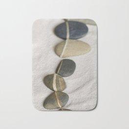 zen pebble line Bath Mat