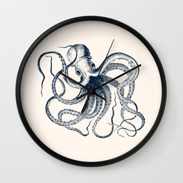 Vintage Octopus Wall Clock