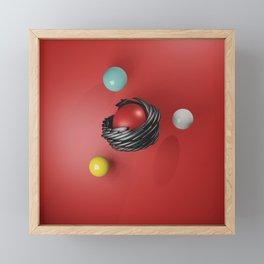 3D Abstract Artwork 5 - 2nd variation Framed Mini Art Print