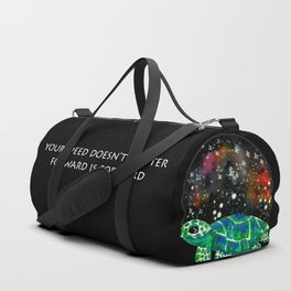 Watercolor Sea Turtle Duffle Bag